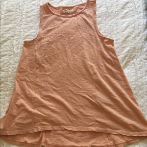 Madewell High Low Swing Tank